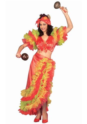 Forum Novelties Inc Womens Latin Dancer Adult Costume Medium Red -