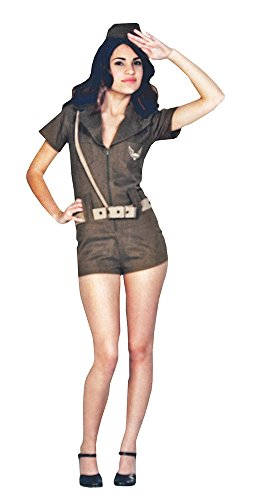[First Line of Defense Military Girl Teen Costume Size 3-5] (Military Costumes For Teens)