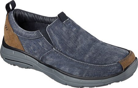 Fit Skechers Benideck scivolate Navy Relaxed dqwarq