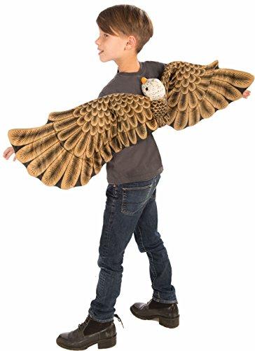 Forum Plush Bald Eagle Child Wings Costume, -