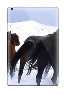 Fashion Tpu Case For Ipad Mini/mini 2- Horse Pic Defender Case Cover