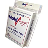 DIY MoldCheck Mold Test Kit (10 Tests per Kit) Multiple air Sampling Tests, Simple Visual Comparison, Locate Mold Source, Eas