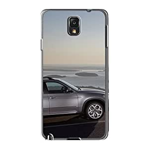 Ashburhappy2009 Cases Covers For Galaxy Note3 - Retailer Packaging Grey Bmw X5 Side View Protective Cases Black Friday