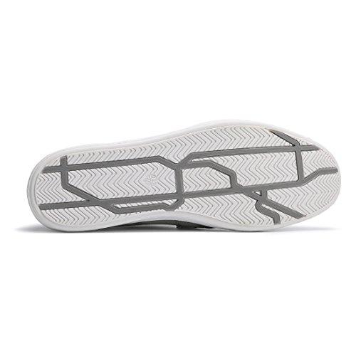 Hawkwell Herren leichte Bequeme Fashion Sneaker Grau-1