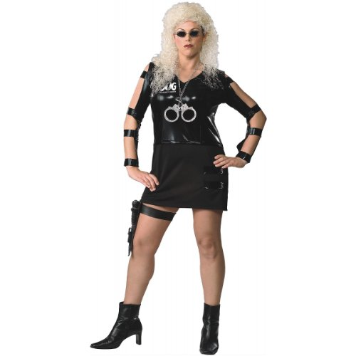 Dog The Bounty Hunter Halloween Costumes (Beth Adult Costume - Standard)