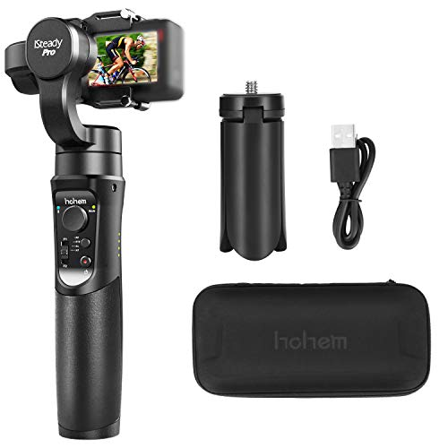 Hohem iSteady Pro 3-Axis Handheld Gimbal Stabilizer, Working with DJI Osmo Action, Gopro Hero 7,6,5,4,3, SJ cam, RX0. Action gimble with time-Lapse, Fantasy Inception.