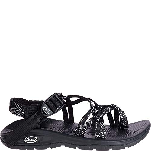 Chaco Women's Zvolv X2 Sport Sandal, Dash Black, 9 Medium US