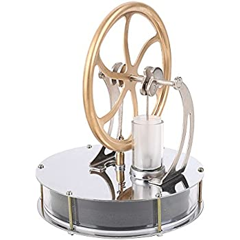 ELENKER New Low Temperature Stirling Engine Education Toy