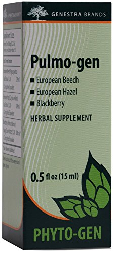 Genestra Brands – Pulmo-gen – European Beech, European Hazel, and Blackberry Herbal Supplement – 0.5 fl. oz.