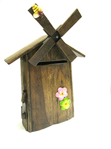 Wooden Handmade Wall Mounted Decorative Post Box Mail Box Outdoor Letter box