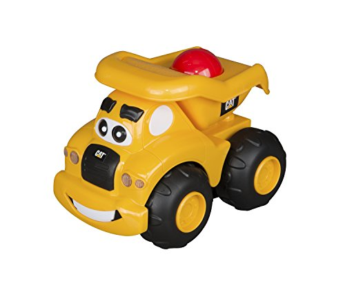 Go Dump Truck (Toy State Pre-School Lights and Sounds Caterpillar CAT Roll and Go Dump Truck)