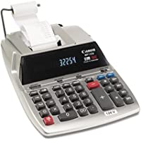 Canonamp;reg; - MP11DX Two-Color Printing Desktop Calculator, 12-Digit Fluorescent, Black/Red - Sold As 1 Each - Durable and spacious keyboard layout is enhanced by the sculpted key shape.