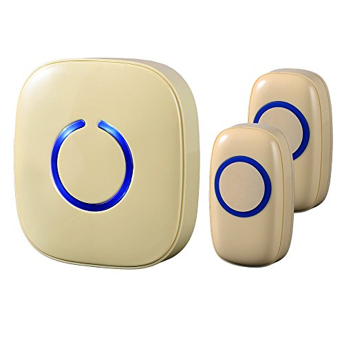 Cheap  SadoTech Model CX Wireless Doorbell with 1 Receiver Plugin and 2 Remote..