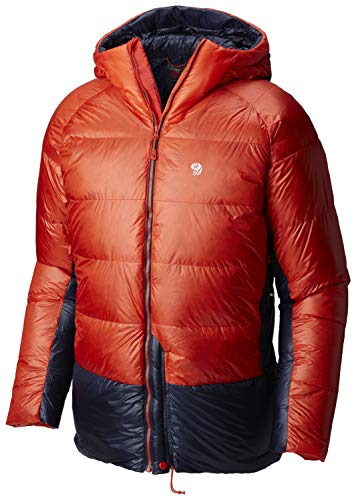 (Mountain Hardwear Phantom Hooded Down Jacket - Men's Fiery Red)