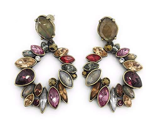(Chloe + Isabel E240 Bouquet Rouge Earrings)