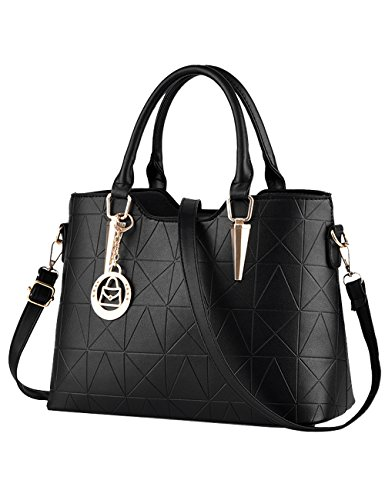 Blue Body PU Bags Shoulder Bags Handle Bag Diamond Black Bag Hand Women's Cross wPCqwx