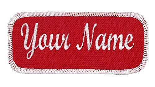 Name Patch Uniform or Work Shirt, Personalized, Embroidered, Multiple Styles
