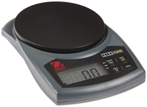 Ohaus HH120D Hand-Held Series Portable Scales, 60g/120g C...