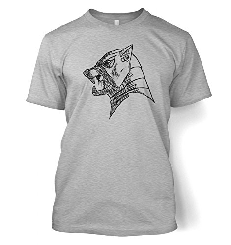 The Hound\'s Helm Men\'s T-shirt Small Sport Grey -