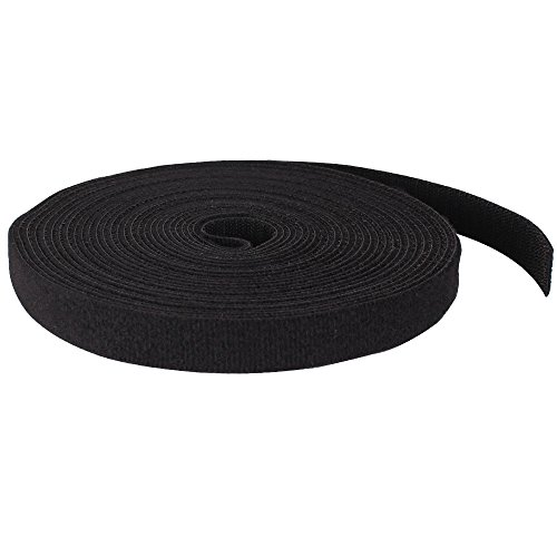 Skywalker Signature Series Double Sided Hook and Loop Tape, 25ft, Black by Skywalker