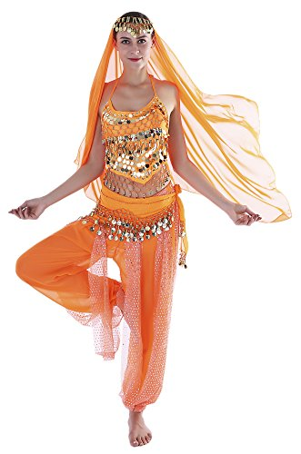 Seawhisper Adult Genie Outfit Arabian Nights Costume Women