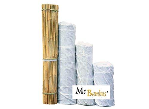 Bambusrohre / Bambusstangen / Pflanzstäbe / Tonkinstäbe - Länge von 60 cm bis 520 cm - von Mc-Bambus (Länge: 274 cm - Durchmesser: 18 - 20 mm - 100 Stück)