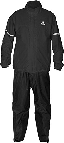 Fieldsheer Pant Adventure - Fieldsheer Men's Aqua Tour Rain Suit, (Two Piece) (Black, X-Large)