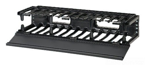 Panduit NMF2 Horizontal Cable Manager, Black