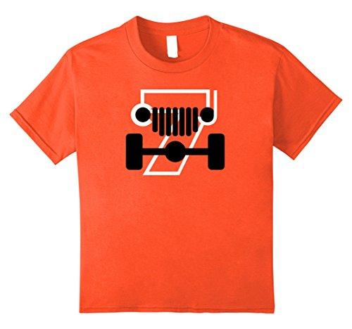 unisex-child Jeep CJ7 Off-Roading Love Black and White De...