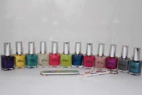 Used, Bari Pure Ice Nail Polish - 12 Beautiful Colors with for sale  Delivered anywhere in Canada