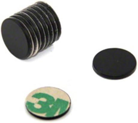 N42 con adesivo magnetico 2 kg 10 pezzi First4magnets F2015NA diametro: 20 mm x 1,5 mm confezione da 10