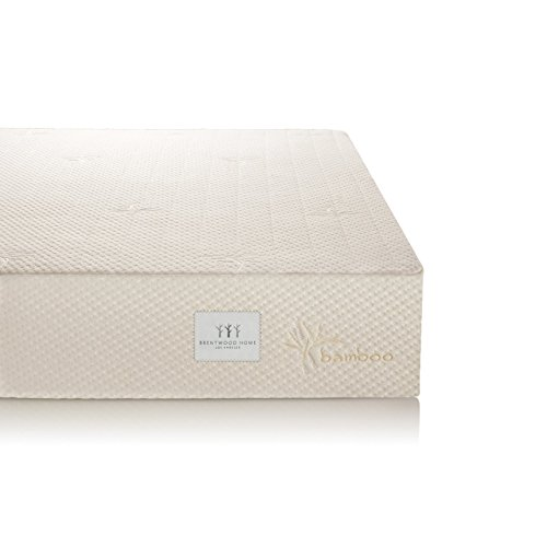 Brentwood 7' Gel Infused HD Memory Foam Mattress - 100% Made in USA - CertiPur Foam - 25-Year Warranty, Triple Layer, All-Natural Wool Sleep Surface and Bamboo Cover, RV Short King Size 72 x 80 x 7