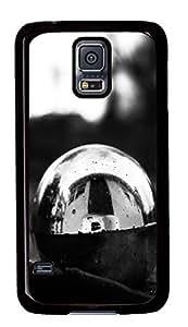 Diy Fashion Case for Samsung Galaxy S5,Black Plastic Case Shell for Samsung Galaxy S5 i9600 with Reflection