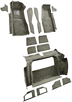 Fits: Complete Without Door Panels Cutpile ACC 1981-1982 Corvette Carpet Replacement Factory Fit Complete
