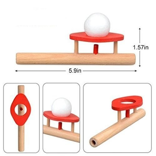 Boat Cb Track (VIPASNAM-Cool Balance FLOATING Wooden Flute Ball Children's Educational Toy CB)