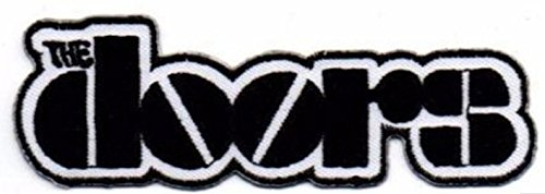 """The Doors - Jim Morrison Rock and Roll Band Embroidered Patch Size 3 """" x 3/4 """""""