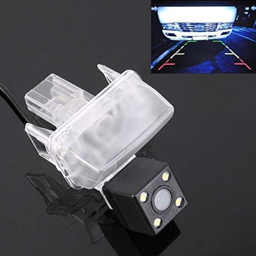 リバースカメラ 720x540有効画素HD防水4 LEDナイトビジョン広角車のリアビューバックアップリバースカメラ、トヨタハイランダーのために2015年から2018年/ 2014年から2017年カムリ