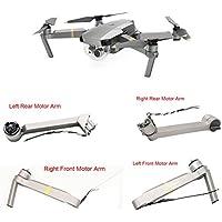 Rucan Body Frame Kit Left Rear Motor Arm Repair Parts For DJI Mavic Pro Drone (A)