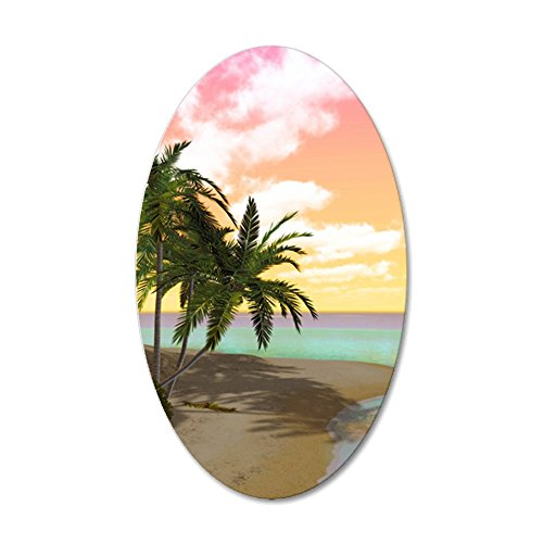 Price comparison product image CafePress - Is_Twin_Duvet - 35x21 Oval Wall Decal, Vinyl Wall Peel, Reusable Wall Cling