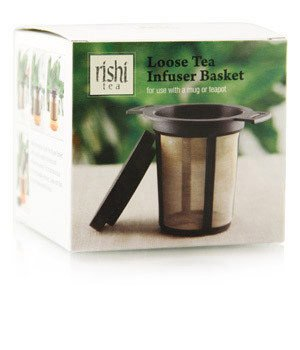 Rishi Tea Loose Leaf Tea Infuser Basket, 1 Count