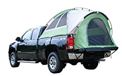 The Backroadz Truck Tent was created with every truck owner in mind while being easy on the wallet. A quick and easy assembly creates the ultimate camp site in the back of your open-bed pickup. Napier's exclusive full floor design protects yo...