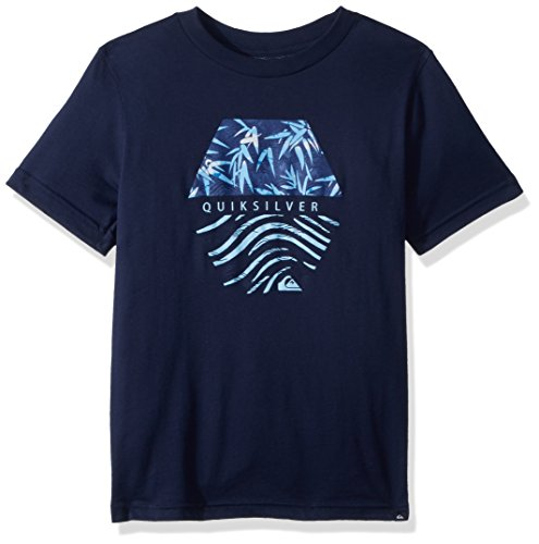 - Quiksilver Boys' Big Bamboo Breakfast Youth TEE Shirt, Navy Blazer, S/10