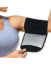 ARTOCT Arm Trimmers voor Vrouwen,Zweet Arm Riem Protector Sauna Sweat Bands Verstelbare Arm Trainer Toner Mouwen voor Sport Workout