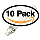 (10 Pack) Philips PL-S 13W/850/2P ALTO Single Tube 2 Pin Base Compact Fluorescent Light Bulb (alt to CF13DS/850/ECO PL-S 13W/50 PL-S 13W/850/2P/ALTO F13BX/SPX50 13W/850/ALTO CF13DS/850 )