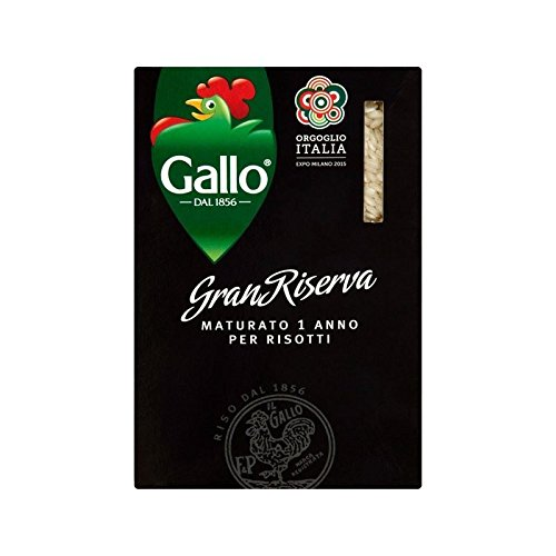 Riso Gallo Carnaroli Maturato 500g - Pack of 2 by Riso Gallo