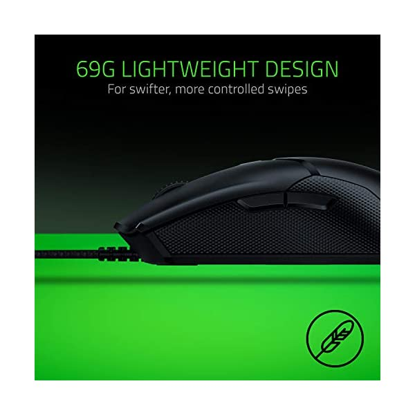 Razer Viper Ultralight Ambidextrous Wired Gaming Mouse: Fastest Mouse Switch in Gaming - 16,000 DPI Optical Sensor…