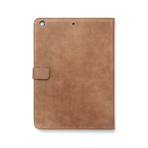 Zenus Retro Vintage Diary Nubuck Leather Carrying Case for Apple iPad Air, Vintage brown (APPD5-PRVDY-VB)