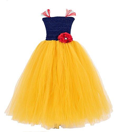 Tutu Dreams Snow White Costumes for Girls Flower (Snow White Tutu Girls Costumes)