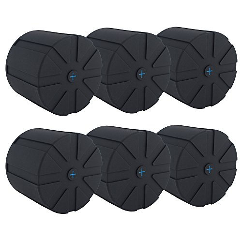 KUVRD Universal Lens Cap - Fits 99% of DSLR lenses, Element Proof, Limited, 6-Pack by KUVRD