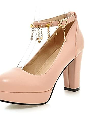 41814138 NJX/ hug Zapatos de mujer - Tacón Robusto - Tacones - Tacones - Oficina y